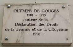 """Hoy hace 220 años que asesinaron a una de las mayores precursoras del feminismo: Olympe de Gouges. La guillotinaron por redactar la """"Declaración de la Mujer y la Ciudadana"""" en la que reivindicaba la igualdad de derechos, justo después de la Revolución Francesa en la que las mujeres participaron activamente y de donde salieron las premisas de Libertad, Igualdad y Fraternidad, dejándolas luego fuera. Cuando algunas de ellas las reivindicaron, sencillamente, las mataron."""