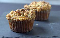 can't believe it's this good: gluten + dairy free pumpkin streusel muffins