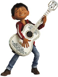 Images of Miguel Rivera from Coco.