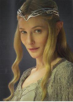 Galadriel <-- most beautiful elf of them all!