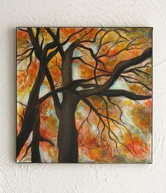 Tree Original Nature Painting