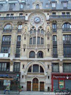 Bâtiment haussmanien rue Réaumur. Paris 2e