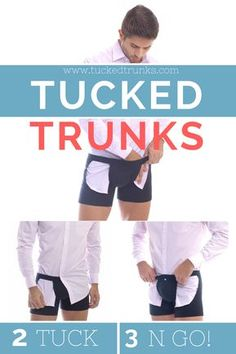 Keep your shirt TUCKED in 3 simple steps with Tucked Trunks boxer briefs! Use code: PIN15 for an EXTRA 15% OFF any pack! -- #menswear #mensfashion #shirtstay #suit #mensuit #menstyle #gq #dapper