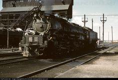 UP 3966 Union Pacific Steam 4-6-6-4 at Cheyenne, Wyoming by John Dziobko