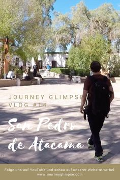 Im Vlog Nummer 14 zeigen wir San Pedro de Atacama in Chile. Lonely Planet, Chile, Journey, Art Quotes, Continents, Places, Chili