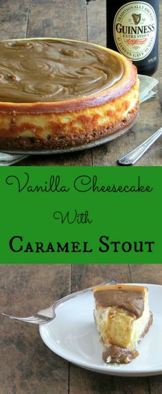 Vanilla Cheesecake with Caramel Stout | Lou Lou Biscuit