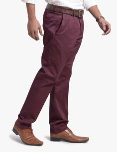 MEN'S STRETCH SLIM FIT CHINO PANTS – FLAT FRONT  118-6877-010405-36-21- ##olgyn #malefashion #mesnoutfits #mensstyle #mensfashion #fashionformen #summer2018 #summerfashion #usa #chino #chinopants #menswear Mens Chino Pants, Denim Pants, Denim Outfit, Wholesale Clothing, Cotton Fabric, Burgundy, Menswear, Slim