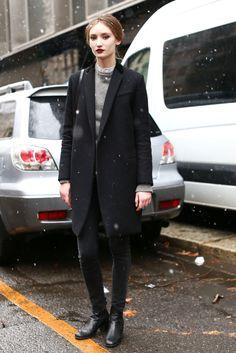 Milan Fashion Week Fall 2013 Models style