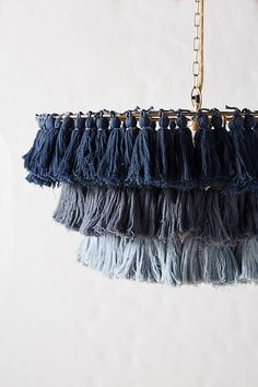 Fela Tasseled Chandelier | Anthropologie