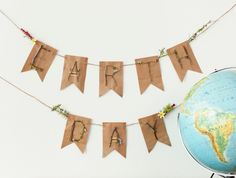 Earth Day Banner. Make It Now in Cricut Design Space
