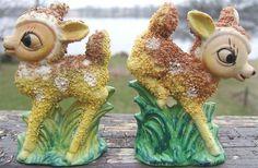 Look what I found on @eBay! http://r.ebay.com/zf3Sxb Vintage VICTORIA CERAMICS FAWN DEER Salt Pepper Shakers