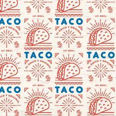 Dribbble - by Simon Beale Mexican Graphic Design, Mexican Designs, Graphic Design Typography, Graphic Design Illustration, Frida Art, Identity Design, Identity Branding, Visual Identity, Typography Logo