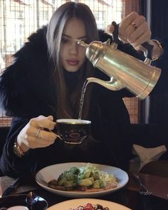 Xenia Tchoumitcheva - Very focused on getting that caffeine intake. #sundaybrunch Instagram: https://www.instagram.com/p/BPkWnEfg2D8/ Vk: https://vk.com/club131845230 Facebook: https://www.facebook.com/groups/167417620276194/