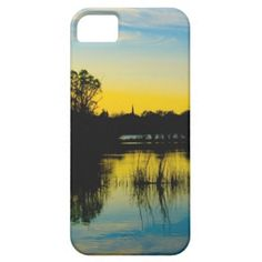 #Sunset over a Lake #iPhone 5 Case $44.95