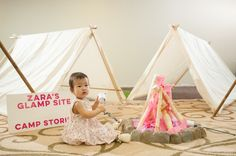 Picture Perfect Events, Glamping, 1st Birthday Party, Los Angeles