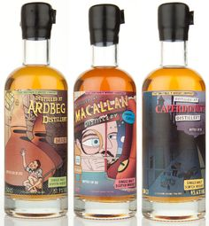 "Masters of Malt ""No-Age Statement"" Limited Edition Single Malt Scotch Whiskies"