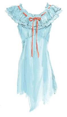 """""""A Little Night Music, Please."""" night gown from J. Peterman. love the clothes this man designs! and the descriptions are so entertaining, just read one... =)"""