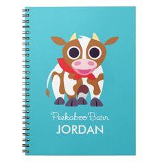 Reba the Cow. Regalo, gift. #cuaderno #notebook