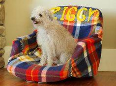 How to Make a Pet Bed Out of an Office Chair : Home Improvement : DIY #pet boy #Cute pet #pet girl| http://pet-boy.blogspot.com