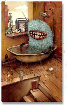 Los monstruitos de Mateo Dineen - Blog Ameboide