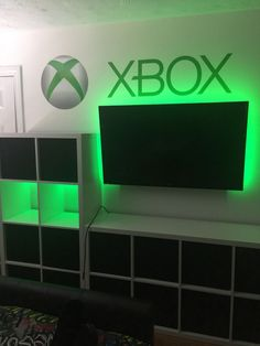 Xbox Theme In 2019 Boys Game Room . 7 Cool Video Games Themed Room For Kids. Teen Game Rooms, Boys Game Room, Teen Boy Rooms, Room Kids, Teen Hangout Room, Cool Boys Room, Guy Rooms, Gamer Bedroom, Kids Bedroom