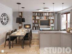 trudny układ mieszkania-projekt - zdjęcie od MIKOŁAJSKAstudio