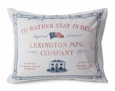 Lexington Stay In Bed Pillow Case - Lexington Company
