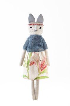 Otylie Autumn/Winter 2013 handmade fashion style bunny rabbit dolls - from LouLou & Oscar