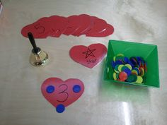 Early Childhood Scribbles: Math with Hearts and Dots