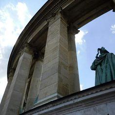 """""""Hero Square"""" in Budapest, Hungary Photo by Sandra Watson"""