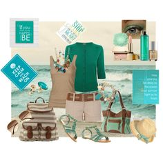 life's a beach, created by tammielou1958 on Polyvore