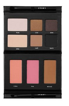 LORAC PRO To Go Eye/Cheek Palette [Excellent Beginner/Travel-Friendly Palette. The Eyeshadows and Blushes are soft and blends easily. You do need an eye-primer underneath otherwise there will be fall outs. Make Up Palette, Love Makeup, Makeup Tips, Hair Makeup, Makeup Deals, Makeup Blush, Makeup Tutorials, Blushes, All Things Beauty