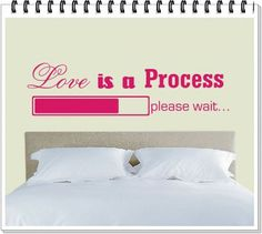 Love is a process