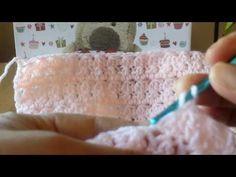 Ponto para mantas de bebe.1 - YouTube