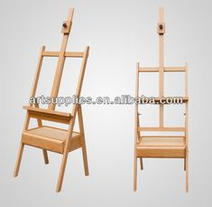 Hot Sell Professional Artist Studio Wooden Easel Painting Easel Stand
