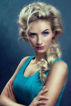 """Frozen"" Braided Beauty by Cameron LeSiege | Modern Salon"