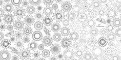 jardim secreto desenhos de colorir para adultor
