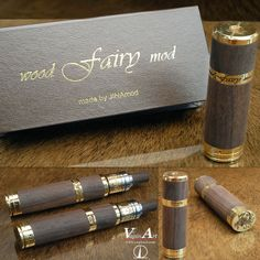 Ebony Wood Fairy Mod from JINAmod #vaping #vapelife #vapecommunity #vapeon…