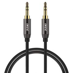 Deals week Aux Cable 6 Feet iXCC Auxiliary Stereo Audio Cable Male to Male with Gold-plated Connector for All Aux Jack Devices Apple Samsung Android Windows Smartphones Tablets and Players - Gray Best Selling Audio Connection, Aux Cord, Output Device, Male To Male, Ipad Mini 3, Mp3 Player, 6s Plus, Android Windows, Samsung