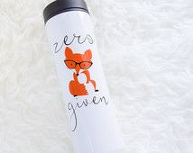 Zero Fox Given Travel Mug | F+C Original | Zero Fox Travel Tumbler | Christmas | Birthday | Funny