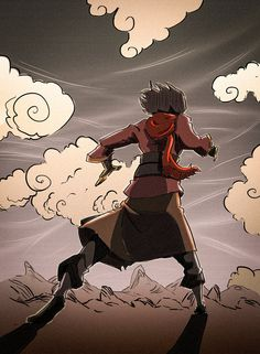 Avatar Wan on his journey as the first Avatar.