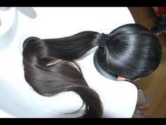 Bun Hairstyles For Long Hair, Straight Hairstyles, Rapunzel Hair, Super Long Hair, Silky Hair, Gorgeous Hair, Wash Hair, Hair Cuts, Hair Color
