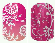Battle of the jams! Carmen Ombre or Silver Floral on Magenta?