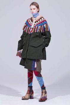 Sacai Pre-Fall 2018 Collection - Vogue