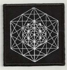 Metatron variation 4 3,2 X 3,2 INCH embroidered patch BUY ANY 3 GET 4