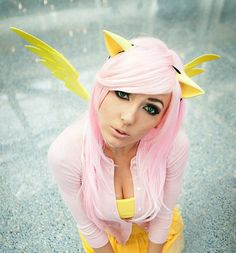 Pony ears & Pegasus wings Set (MLP, cosplay, halloween, party, convention, fun). $39.99, via Etsy.