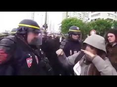 Leftist Protestor Completely Freaks Out After Police Officer Smacks Balloon Away! | TellMeNow
