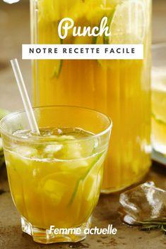 Découvrez la recette du punch. #cocktail #punch #été2018