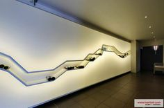 Barrisol Ceiling, Wall Lights, Ceiling Lights, Ceiling Design, Interior Lighting, Track Lighting, Wall Decor, Display, Interior Design