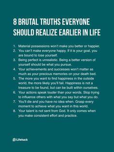 8 Brutal Truths...